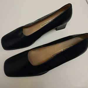 Enzo angiolini heels leather